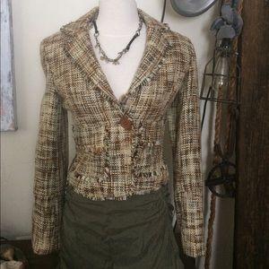 Urban Behavior Women's Tweed Jacket / Blazer